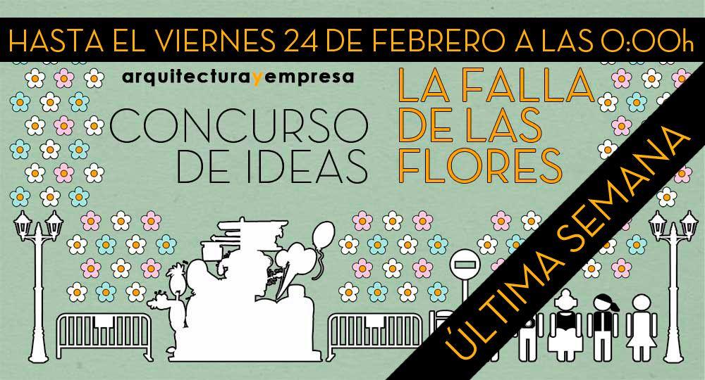 """Última semana para presentarte al Concurso de Ideas """"La Falla de las Flores"""""""