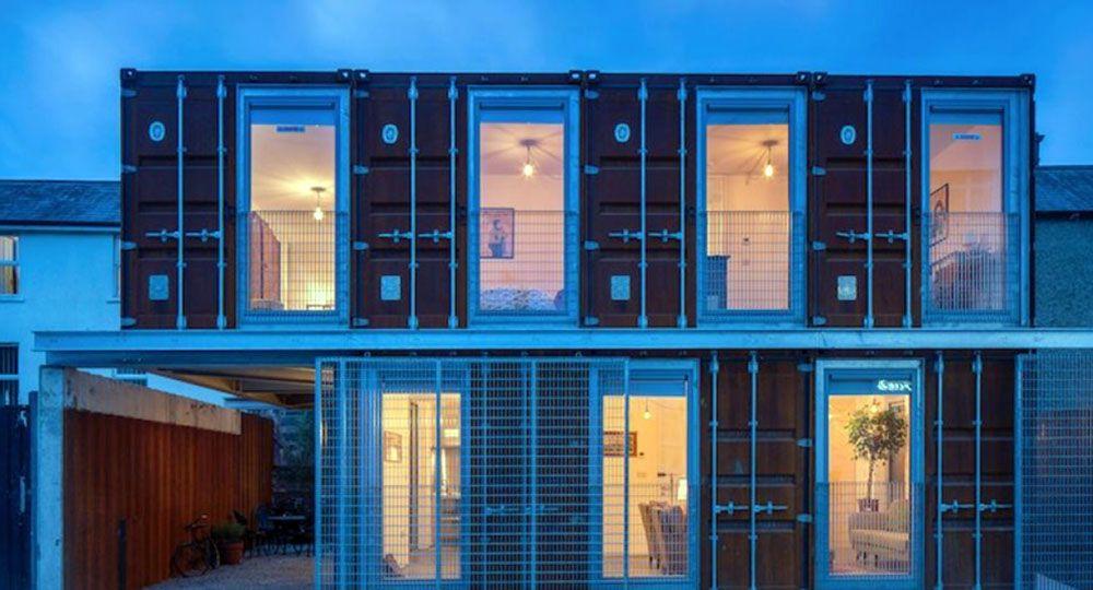 Ringsend Container House, Dublín, LID Architects. Premio de arquitectura sostenible 2018.