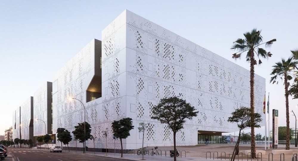 Palacio de Justicia de Córdoba, por Mecanoo Architecten
