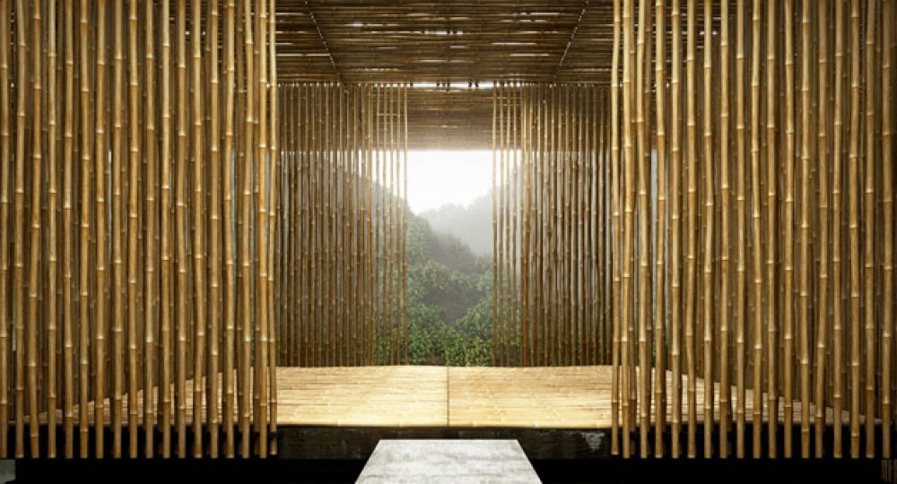 Arquitectura de bambú al poder