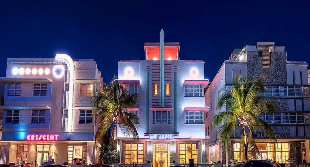 100 años de Art Deco, Miami Beach