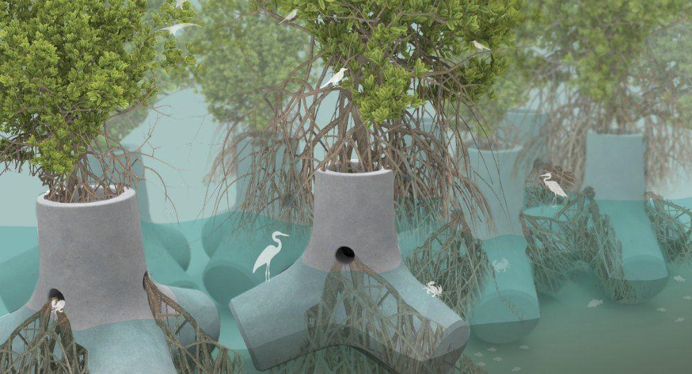 Arquitectura del paisaje tetrapot y su dise o sostenible for Arquitectura del paisaje