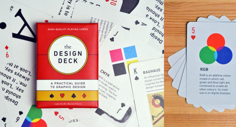 "¿Una partida de naipes? ""The Design Deck"""