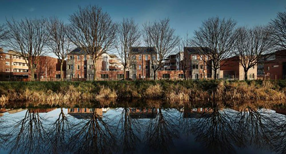 Dolphin House, regeneración de barrios marginales degradados en Dublín. City Architects