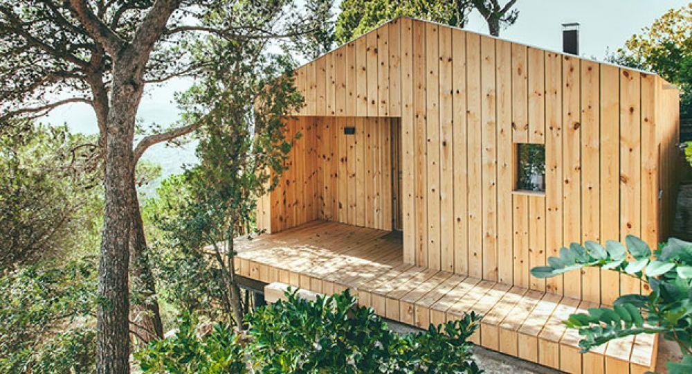 Cabaña en la montaña, eficiencia y ecología por dom arquitectura ...