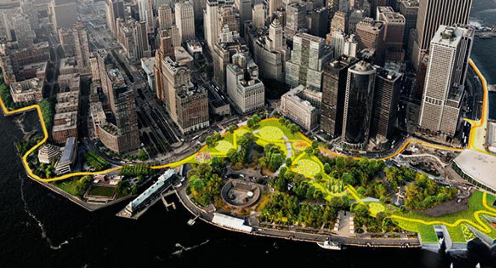 Protecciones sostenibles para Nueva York del arquitecto Bjarke Ingels (BIG)
