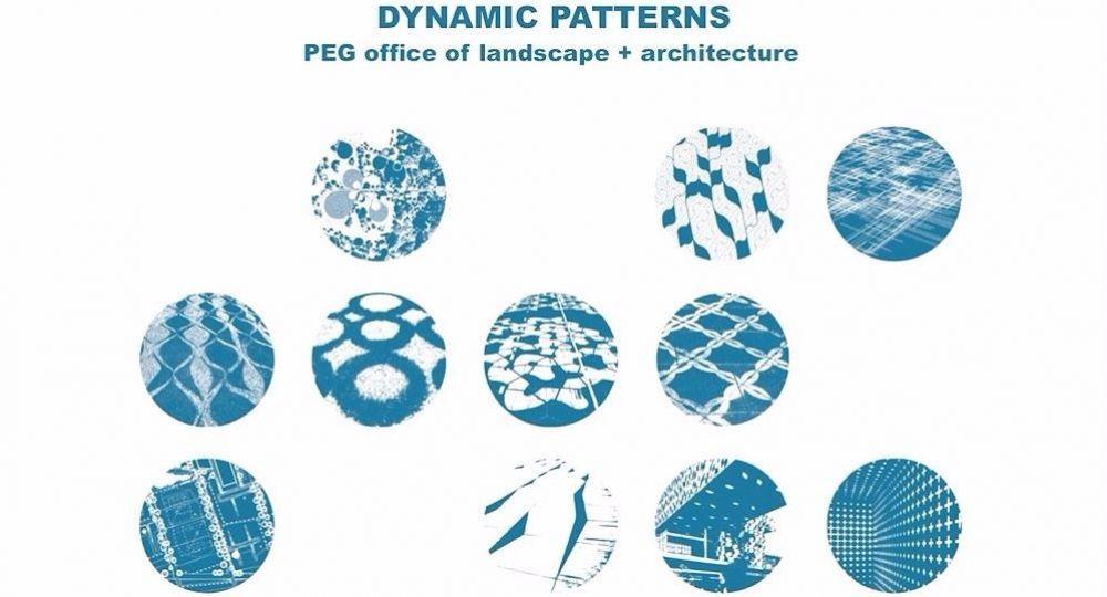 Naturaleza en patrones, por PEG office of landscape + architecture