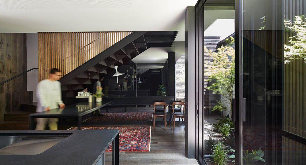 Estrategias aplicables a la arquitectura residencial de reducidas dimensiones. Elgin Street Residence, de Sonelo Design Studios.