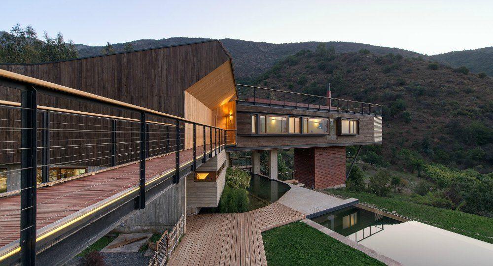 Casa El Maqui, arquitectura contemporánea con autoregulación climática