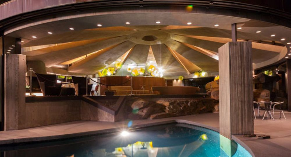 Elrod Residence, la casa Bond del arquitecto John Lautner