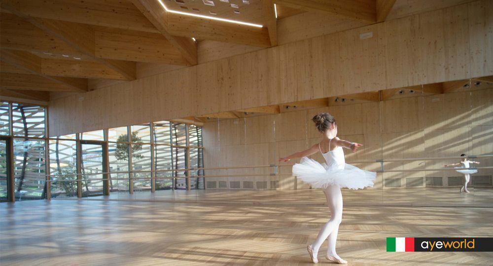 Reconstruir un territorio con la belleza: arquitectura y danza