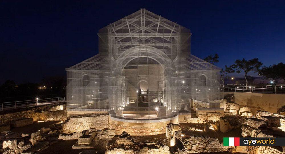 Arquitectura fantasma: Reconstruyendo el tiempo