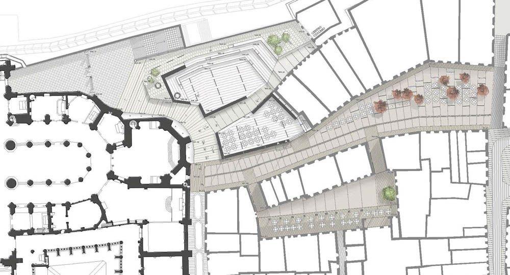 """Urbanismo: La importancia del entorno: """"Retablos Urbanos"""" y la Catedral de Burgos"""