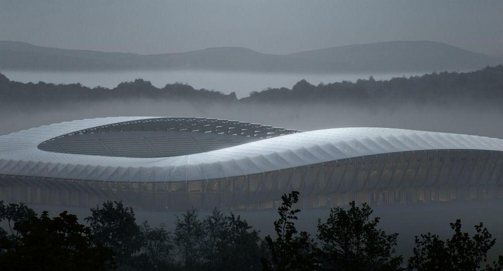 Arquitectura verde para un estadio de futbol. Zaha Hadid Architects