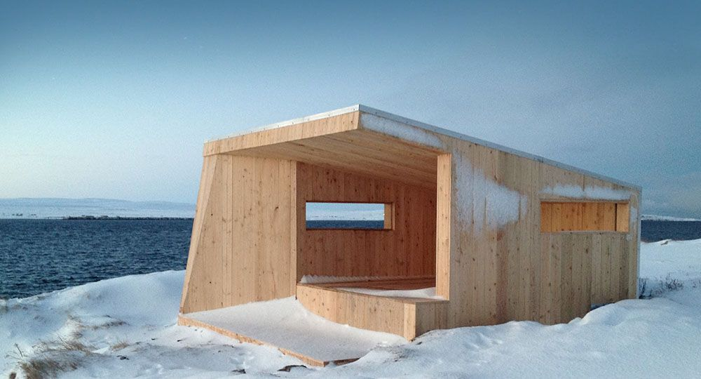 Arquitectura en climas extremos refugios prefabricados arquitectura - Refugios de madera prefabricados ...