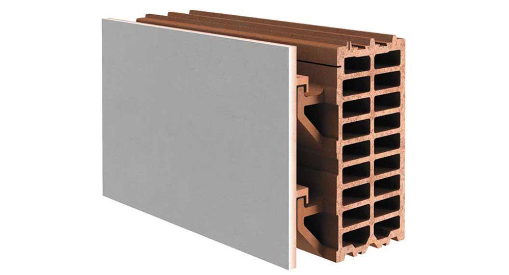 Tecnología y arquitectura: fachada ventilada cerámica sin estructura metálica auxiliar.