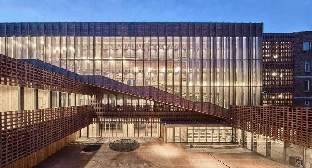 Facultad de Radio y Televisión de Katowice, por BAAS Arquitectura y Grupa 5 Architekci