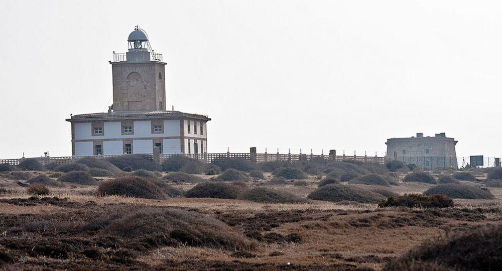 Arquitectura que ilumina, Faro de la isla deTabarca