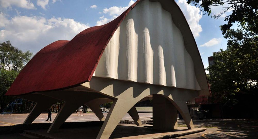 Pabellón de Rayos Cósmicos 1951. Arquitectura de Félix Candela