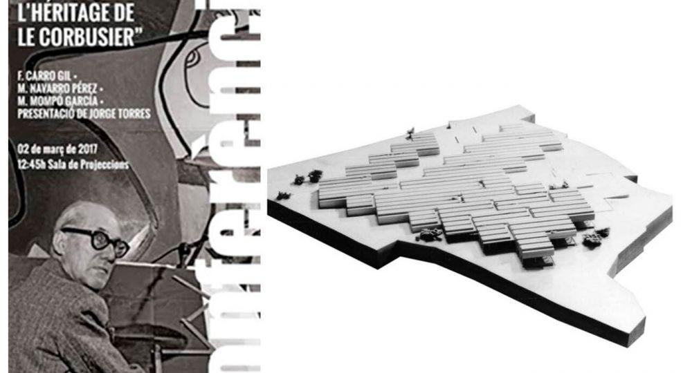 """Conferencia de arquitectura : """"Fval. Feria Valencia. L'heritage de Le  Corbusier"""""""