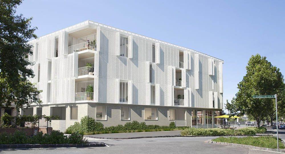 Nth Fitzroy, un nuevo bloque de apartamentos de Fieldwork.