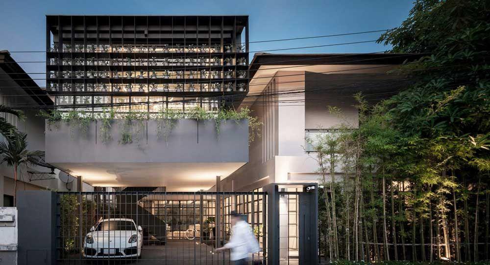 Flower Cage House: la casa de los olivos