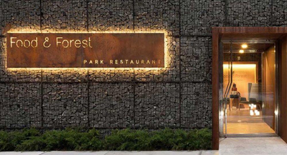 Arquitectura y alta cocina. Food & Forest park restaurant de YOD Design