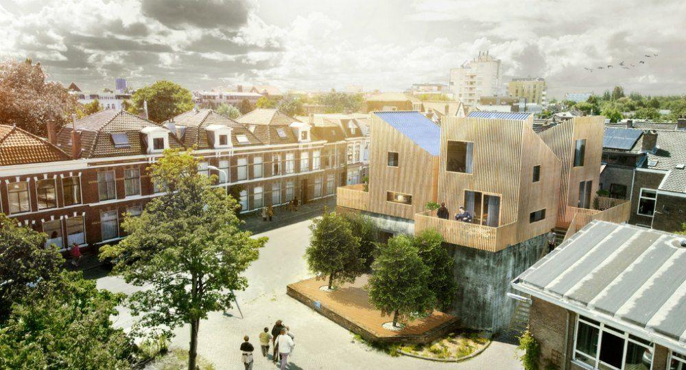 Casas FOON. Mini-viviendas sostenibles en los Países Bajos