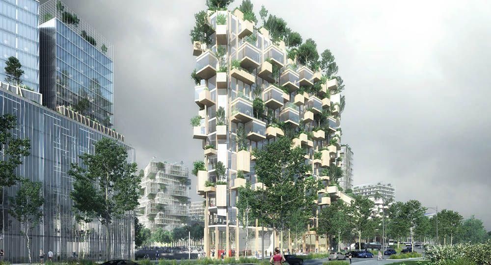 Forêt Blanche, arquitectura verde en París. Stefano Boeri.