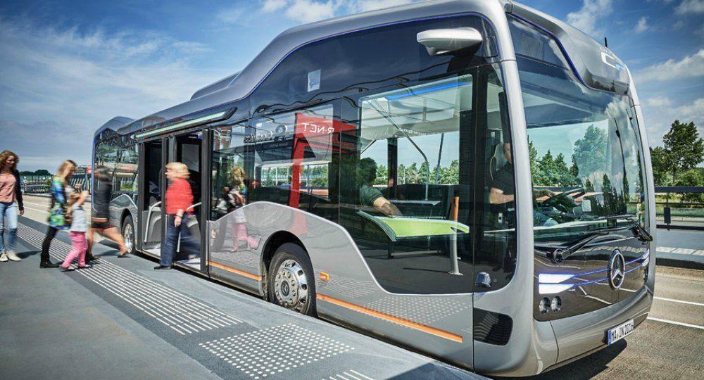 Transporte público de última generación. Future Bus