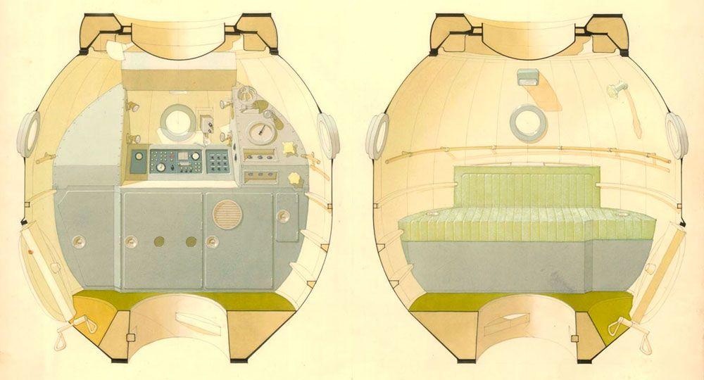 La arquitectura espacial de Galina Balashova