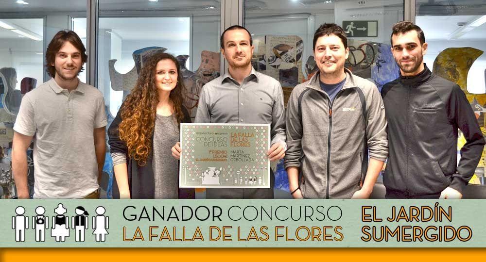El Jardín Sumergido: Ganador del Concurso La Falla de las Flores