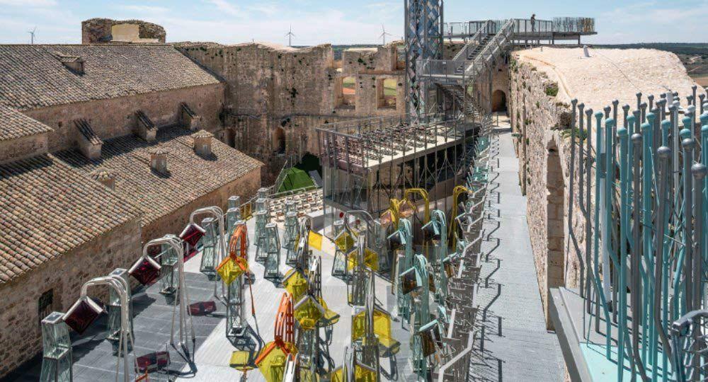 Nueva vida para el Castillo de Garcimuñoz. Izaskun Chinchilla
