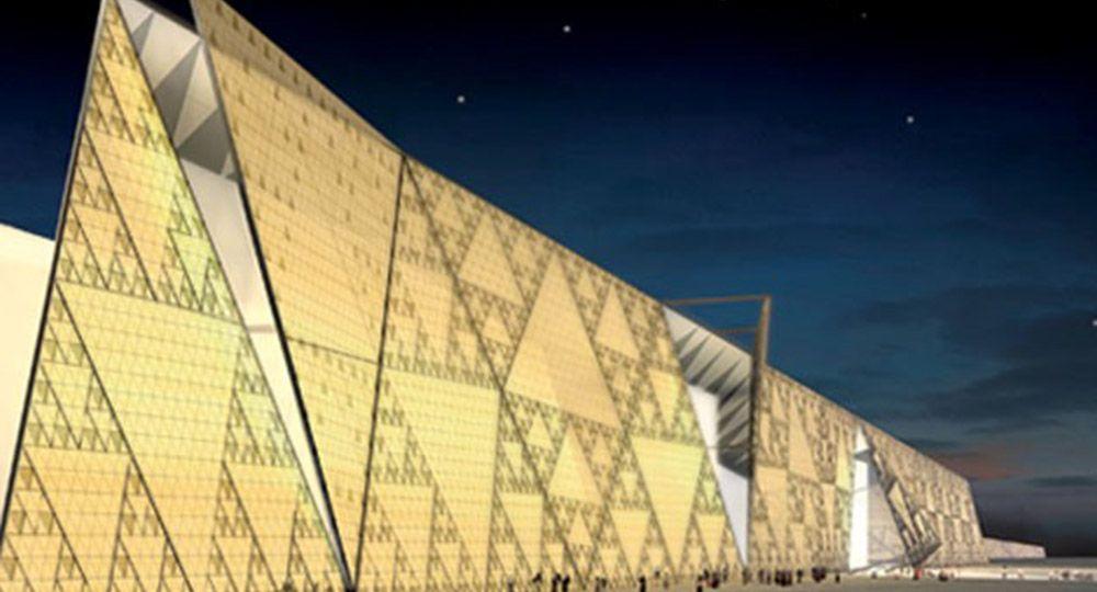 Gran Museo Egipcio, El Cairo. Heneghan Peng Architects.
