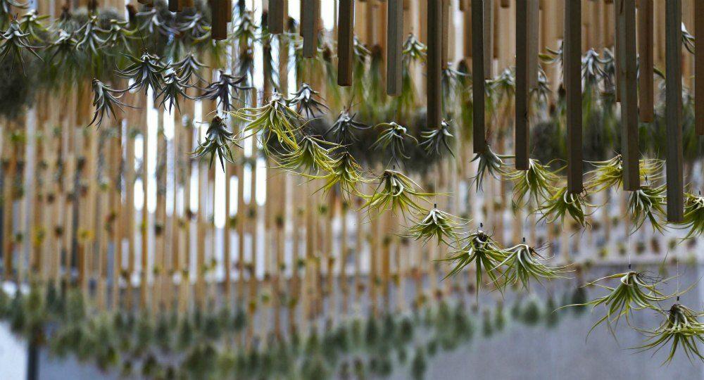 Green Air. El jardín aéreo de Nomad Studio