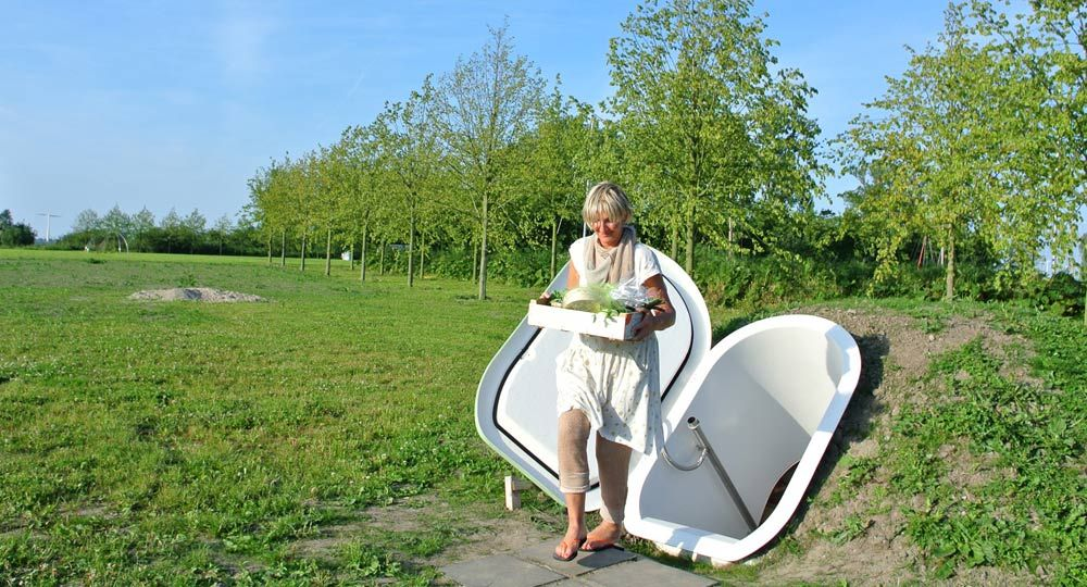 Groundfridge , un frigorífico ecológico y natural
