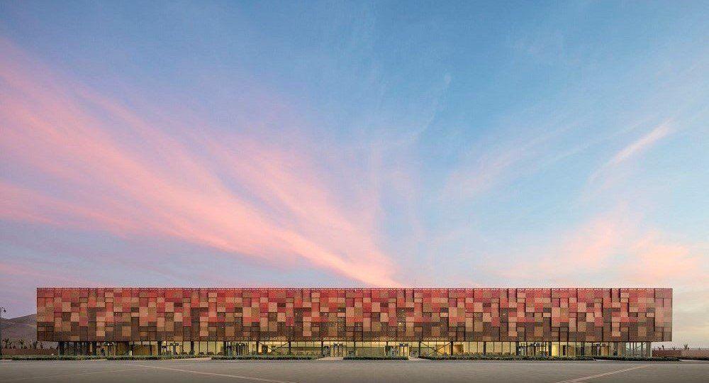 Aeropuerto de Guelmim (Marruecos), por Groupe3 Architectes
