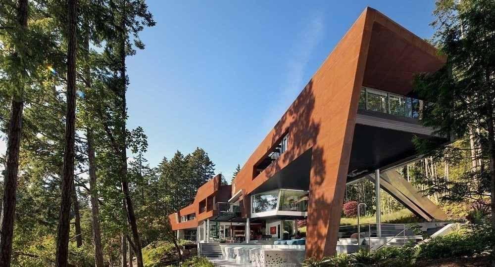 La vida es ocio: Gulf Islands Residence, de AA Robins Architect