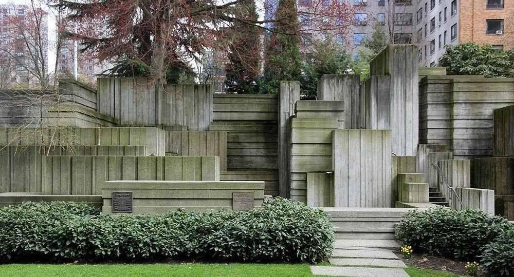 El paisaje arquitectónico de Lawrence Halprin: el Freeway Park de Seattle