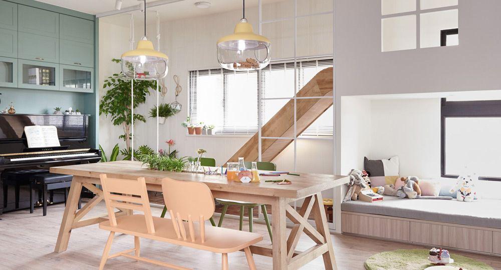 Recreo en la cocina, arquitectura HAO Design