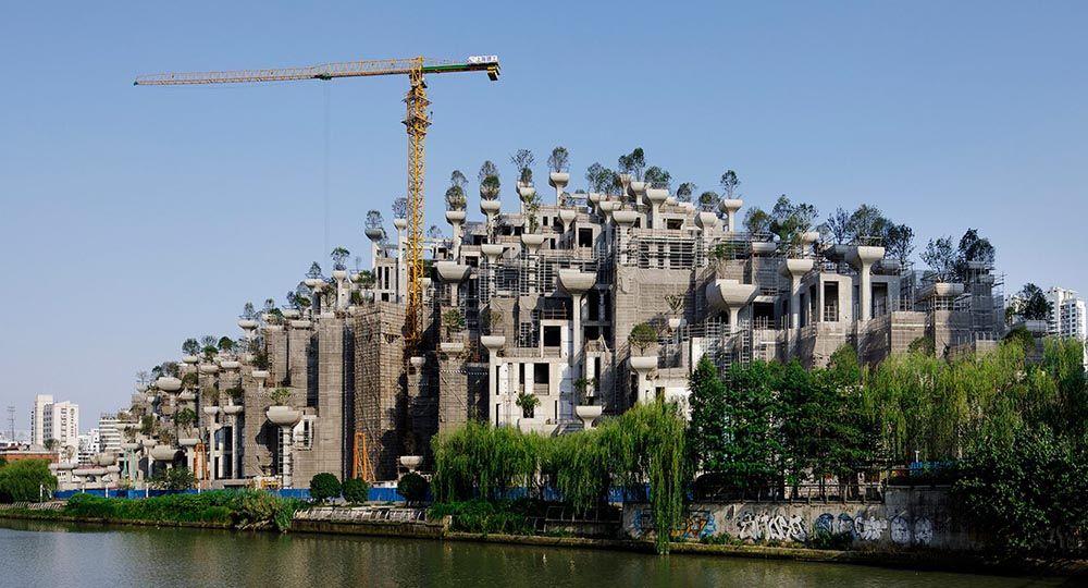 Nueva Arquitectura Verde Para Shanghai En 2018 100 Trees Complex