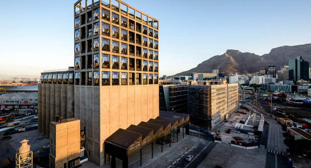 MOCAA, Zeitz Museum of Contemporary Art of Africa. Heatherwick arquitectos.