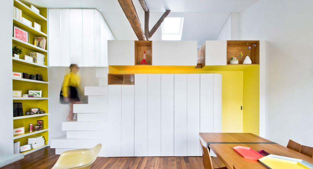 Maximizando espacios, apartamento Hike  de SABO Project