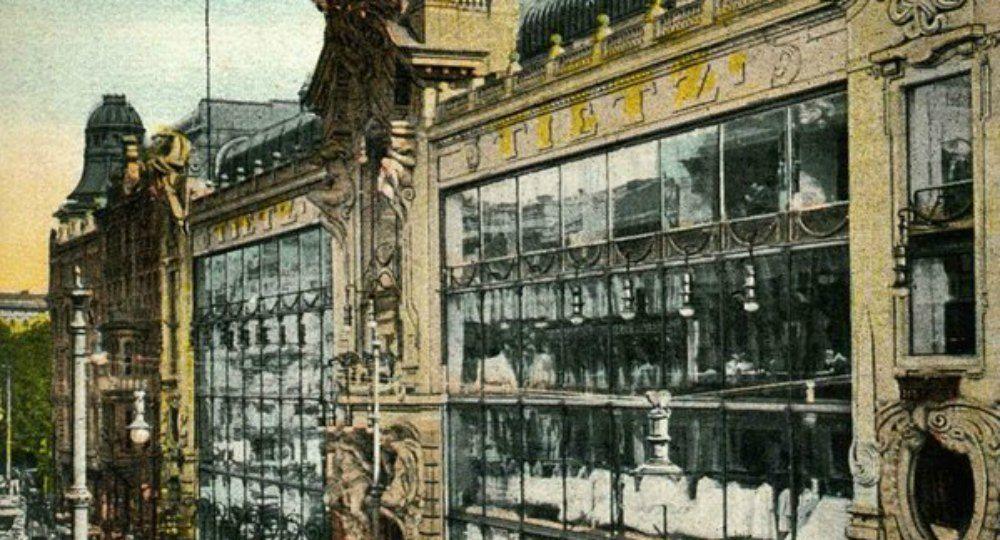 Edificios comerciales. El nacimiento de los centros comerciales