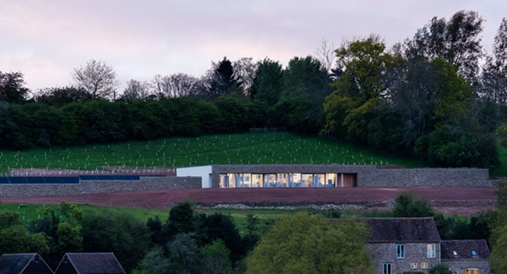 Arquitectura, paisaje y Passivhaus. Hope View House, Warren Benbow Architects.