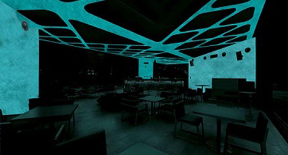 La tecnología de la arquitectura proporciona nuevos materiales como el hormigón luminiscente.