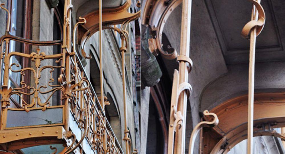 Arquitectura Art Nouveau de Víctor Horta