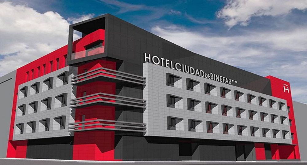 Arquitectura eficiente: el uso de la aerotermia en el Hotel Ciudad de Binéfar.