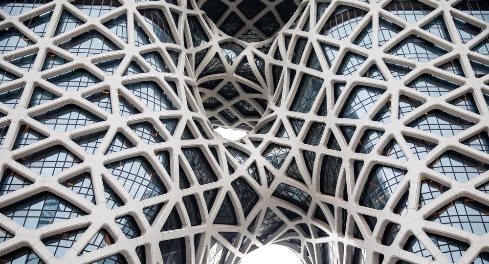 Hotel Morpheus en Macao, China. Zaha Hadid Architects.