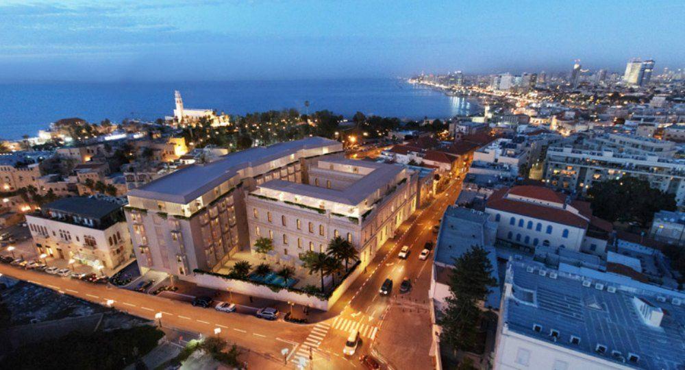 Hotel W Tel Aviv - The Residences, remodelación de un antiguo convento